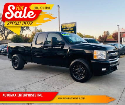 2007 Chevrolet Silverado 1500 for sale at AUTOMAX ENTERPRISES INC. in Roseville CA