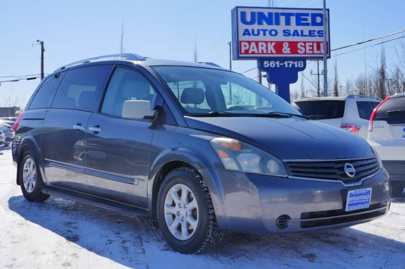2008 Nissan Quest for sale at United Auto Sales in Anchorage AK