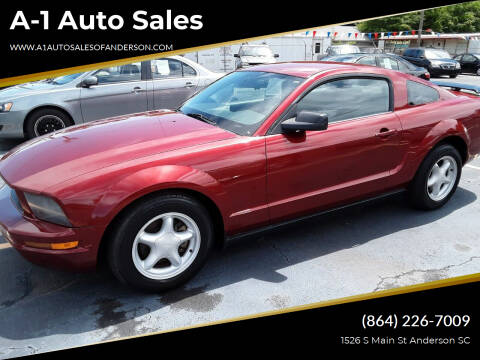 2007 Ford Mustang for sale at A-1 Auto Sales in Anderson SC