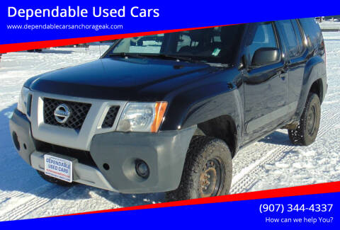 2013 Nissan Xterra for sale at Dependable Used Cars in Anchorage AK