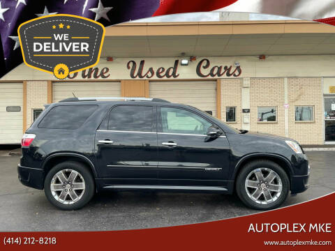 2012 GMC Acadia for sale at Autoplexwest in Milwaukee WI