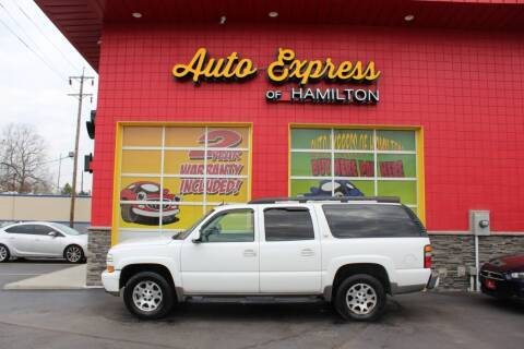 2004 Chevrolet Suburban for sale at AUTO EXPRESS OF HAMILTON LLC in Hamilton OH