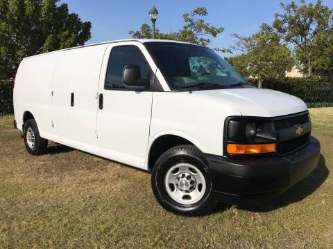 2017 Chevrolet Express Cargo for sale at Kaler Auto Sales in Wilton Manors FL