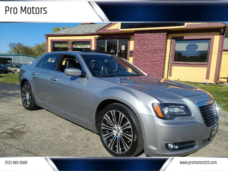 2013 Chrysler 300 for sale at Pro Motors in Fairfield OH