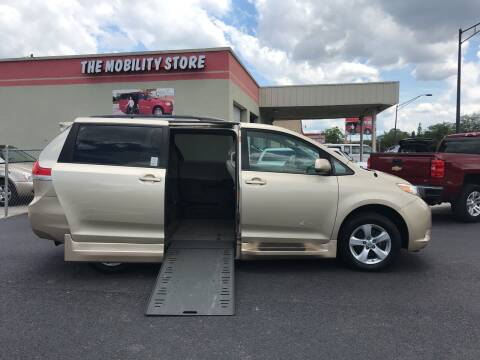2014 Toyota Sienna for sale at The Mobility Van Store in Lakeland FL