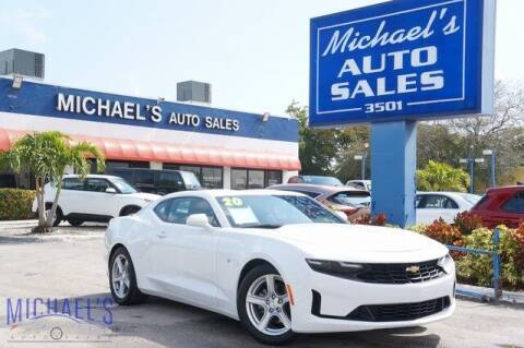 2020 Chevrolet Camaro for sale at Michael's Auto Sales Corp in Hollywood FL
