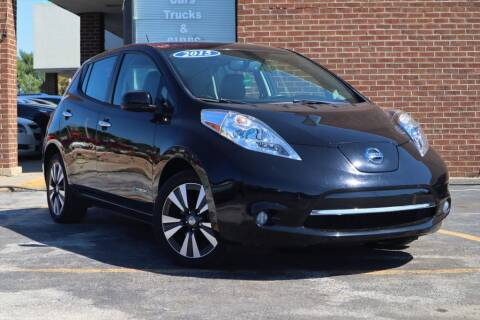 2015 Nissan LEAF for sale at Hobart Auto Sales in Hobart IN