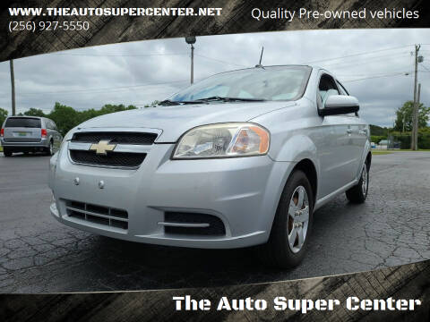 2011 Chevrolet Aveo for sale at The Auto Super Center in Centre AL