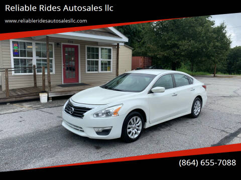 2015 Nissan Altima for sale at Reliable Rides Autosales llc in Greer SC