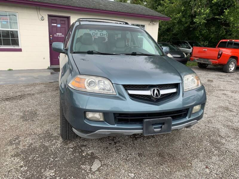 2005 Acura MDX for sale at Excellent Autos of Orlando in Orlando FL