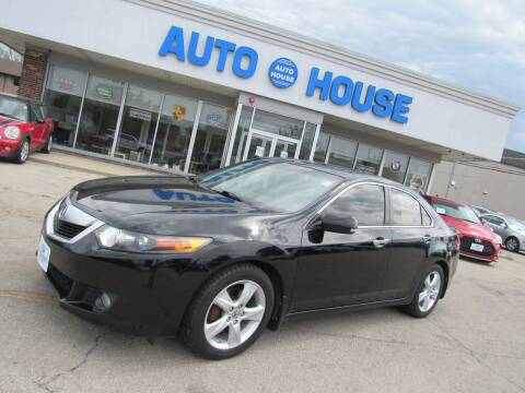 2009 Acura TSX for sale at Auto House Motors in Downers Grove IL