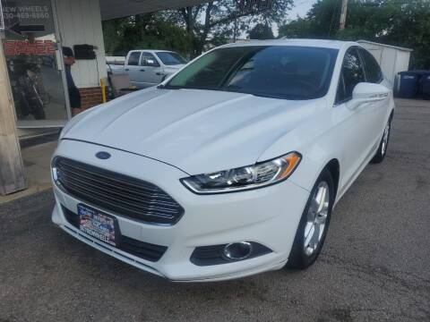 2014 Ford Fusion for sale at New Wheels in Glendale Heights IL