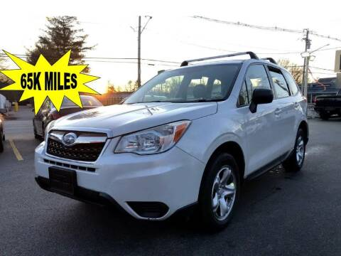2014 Subaru Forester for sale at RT28 Motors in North Reading MA