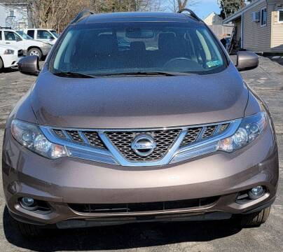 2011 Nissan Murano for sale at JORDAN AUTO SALES in Youngstown OH