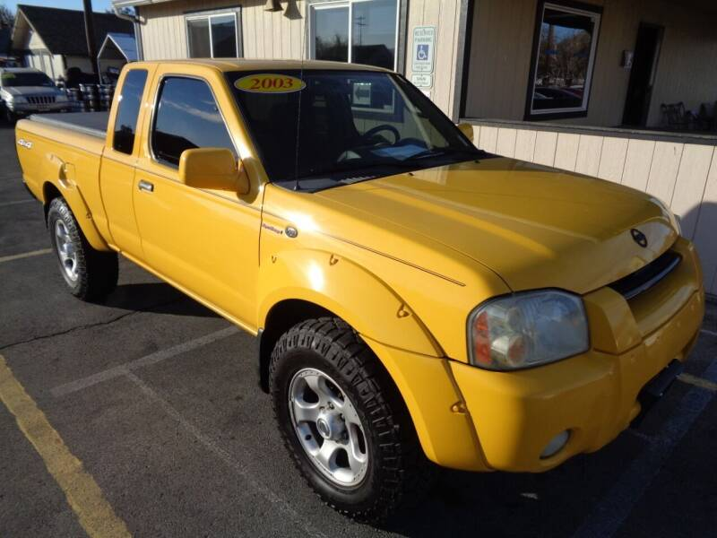 2003 Nissan Frontier for sale at BBL Auto Sales in Yakima WA