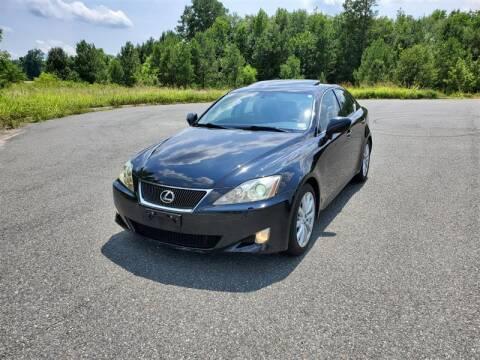 2008 Lexus IS 350 for sale at Apex Autos Inc. in Fredericksburg VA