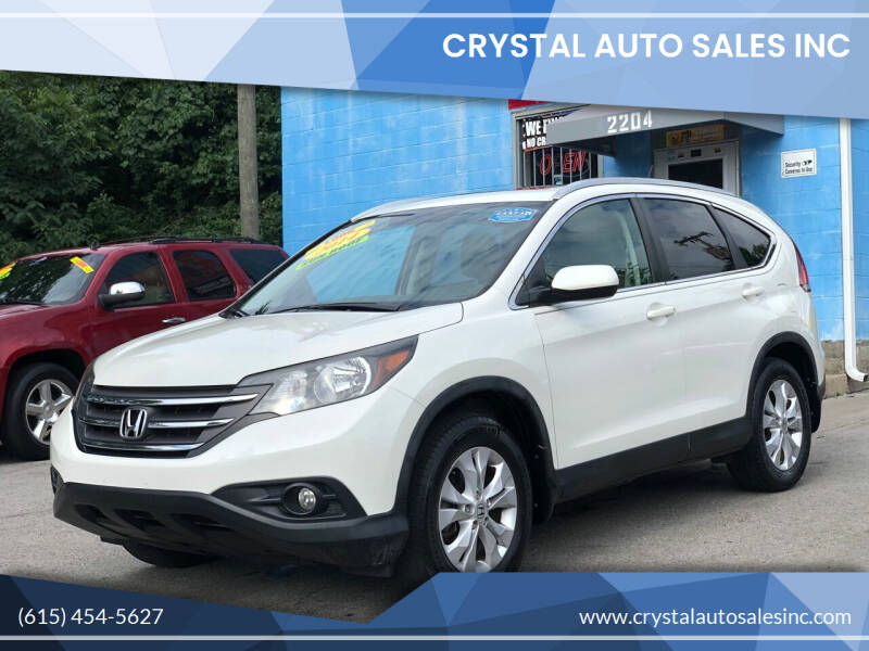 2014 Honda CR-V for sale at Crystal Auto Sales Inc in Nashville TN