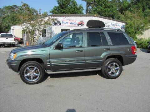 2002 Jeep Grand Cherokee for sale at Pure 1 Auto in New Bern NC