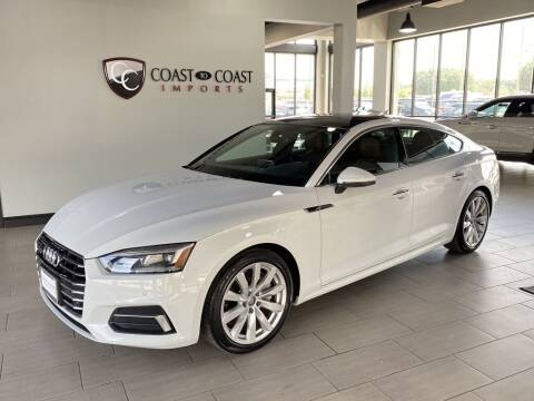 2018 Audi A5 Sportback for sale at Coast to Coast Imports in Fishers IN