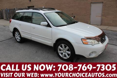2006 Subaru Outback for sale at Your Choice Autos in Posen IL