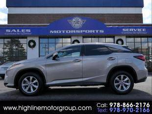 2019 Lexus RX 350 for sale at Highline Group Motorsports in Lowell MA