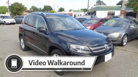 2017 Volkswagen Tiguan for sale at RVA MOTORS in Richmond VA