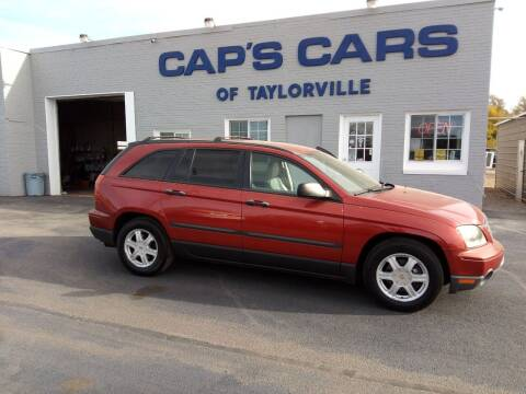 2006 Chrysler Pacifica for sale at Caps Cars Of Taylorville in Taylorville IL