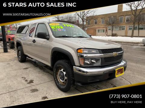 2006 Chevrolet Colorado for sale at 6 STARS AUTO SALES INC in Chicago IL