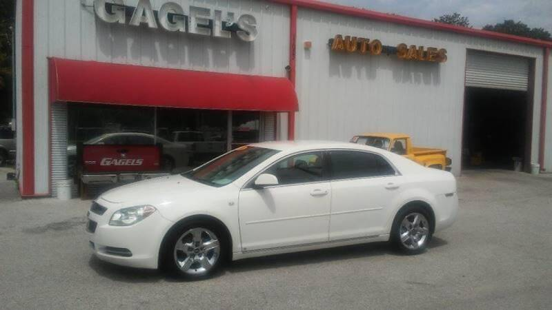 2008 Chevrolet Malibu for sale at Gagel's Auto Sales in Gibsonton FL