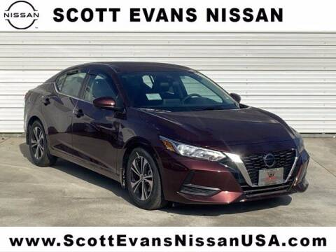 2021 Nissan Sentra for sale at Scott Evans Nissan in Carrollton GA