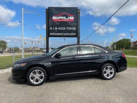 2017 Ford Taurus for sale at SIRIUS MOTORS INC in Monroe OH