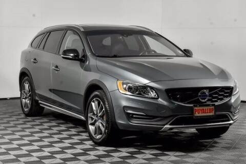 2018 Volvo V60 Cross Country for sale at Chevrolet Buick GMC of Puyallup in Puyallup WA