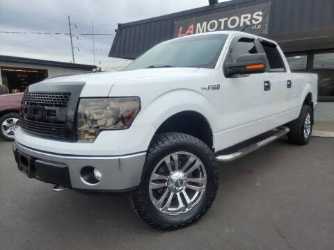 2012 Ford F-150 for sale at LA Motors LLC in Denver CO