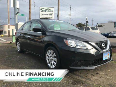 2018 Nissan Sentra for sale at Salem Auto Market in Salem OR