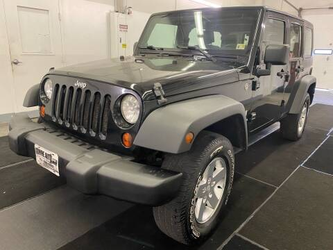 2009 Jeep Wrangler Unlimited for sale at TOWNE AUTO BROKERS in Virginia Beach VA