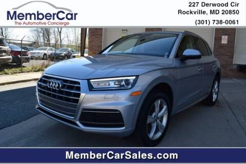 2020 Audi Q5 for sale at MemberCar in Rockville MD