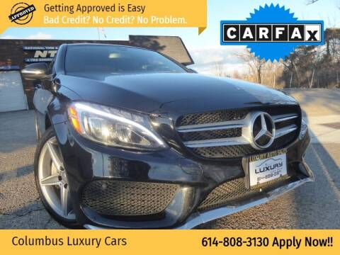 2015 Mercedes-Benz C-Class for sale at Columbus Luxury Cars in Columbus OH