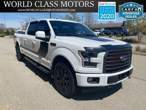 2017 Ford F-150 for sale at World Class Motors LLC in Noblesville IN
