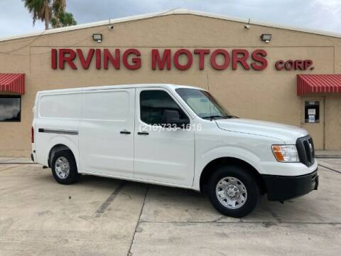 2015 Nissan NV Cargo for sale at Irving Motors Corp in San Antonio TX