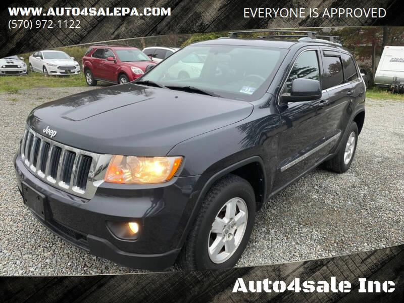 2012 Jeep Grand Cherokee for sale at Auto4sale Inc in Mount Pocono PA