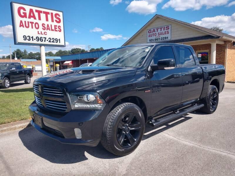 2017 RAM Ram Pickup 1500 for sale at Gattis Auto Sales LLC in Winchester TN