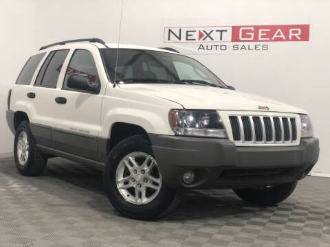 2004 Jeep Grand Cherokee for sale at Next Gear Auto Sales in Westfield IN
