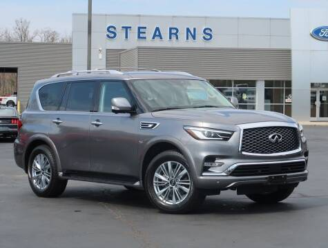 2019 Infiniti QX80 for sale at Stearns Ford in Burlington NC