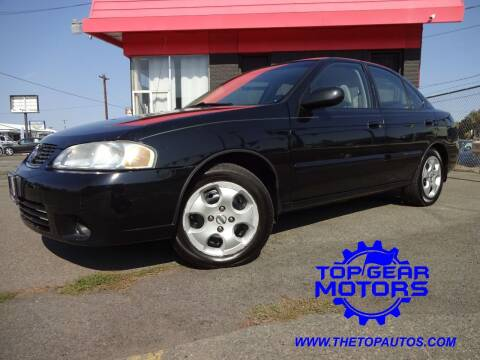2003 Nissan Sentra for sale at Top Gear Motors in Union Gap WA