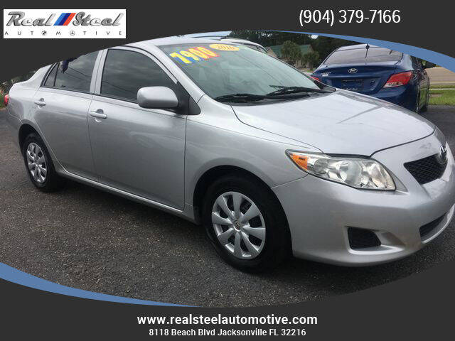 2010 Toyota Corolla for sale at Real Steel Automotive in Jacksonville FL