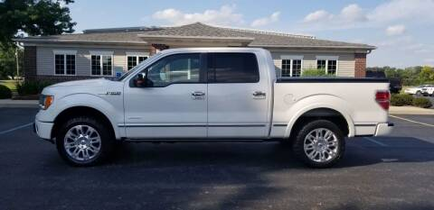 2012 Ford F-150 for sale at Pierce Automotive, Inc. in Antwerp OH