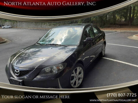 2009 Mazda MAZDA3 for sale at North Atlanta Auto Gallery, Inc in Alpharetta GA