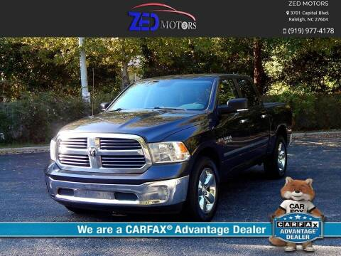 2014 RAM Ram Pickup 1500 for sale at Zed Motors in Raleigh NC
