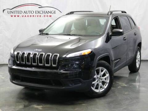2015 Jeep Cherokee for sale at United Auto Exchange in Addison IL