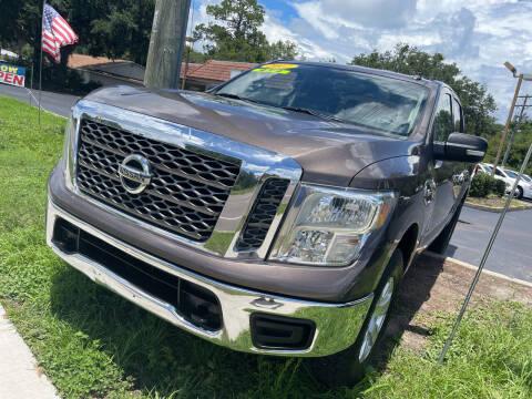 2017 Nissan Titan for sale at Elite Florida Cars in Tavares FL